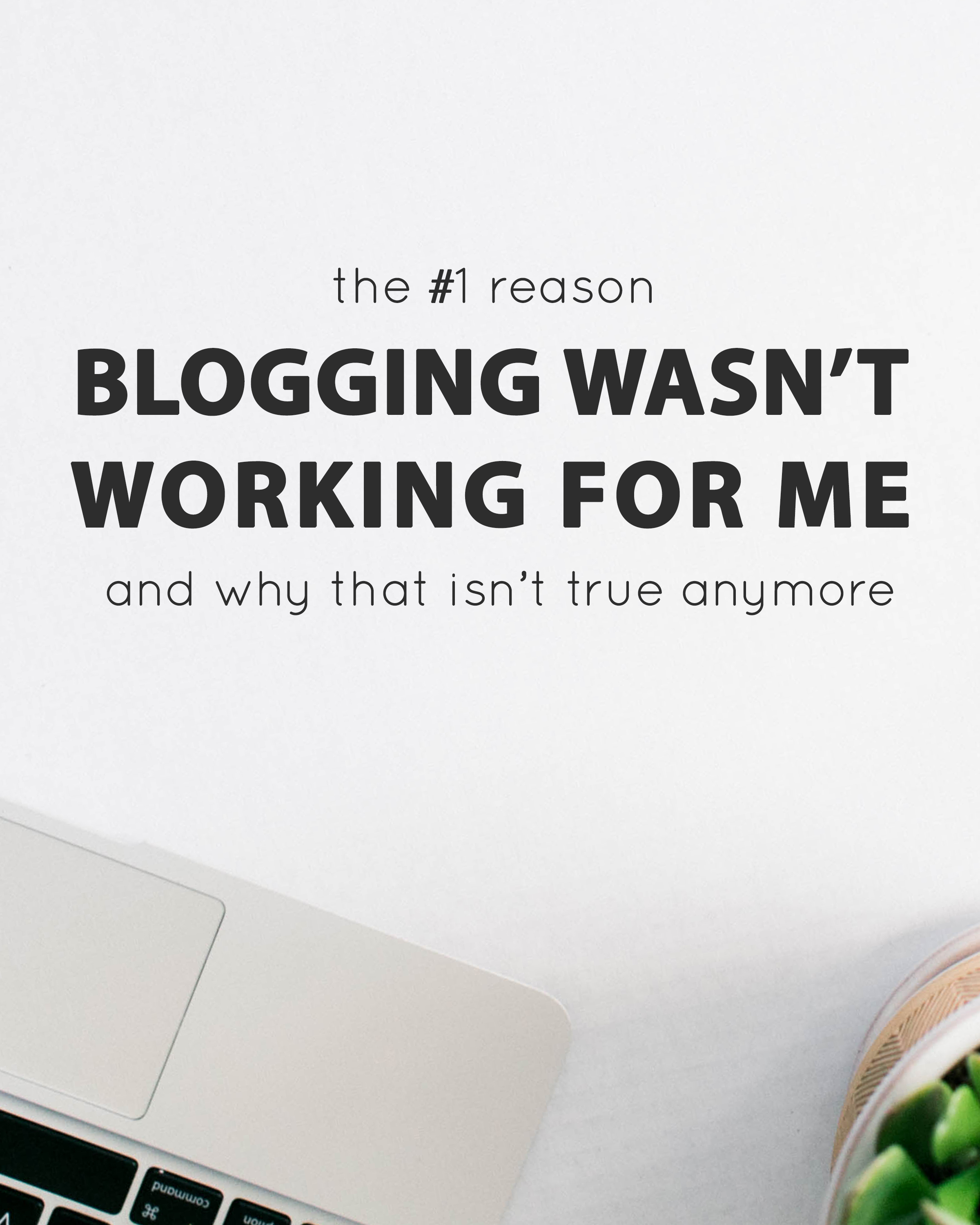 Number one reason blogging wasn't working for me and why that isn't true anymore - The Jordan Brittley Blog (www.jordanbrittleyblog.com)