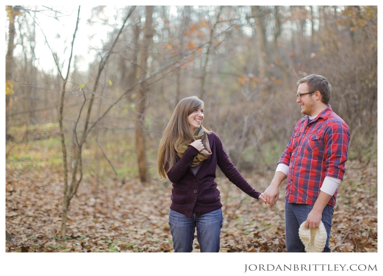 Frick Park Engagement