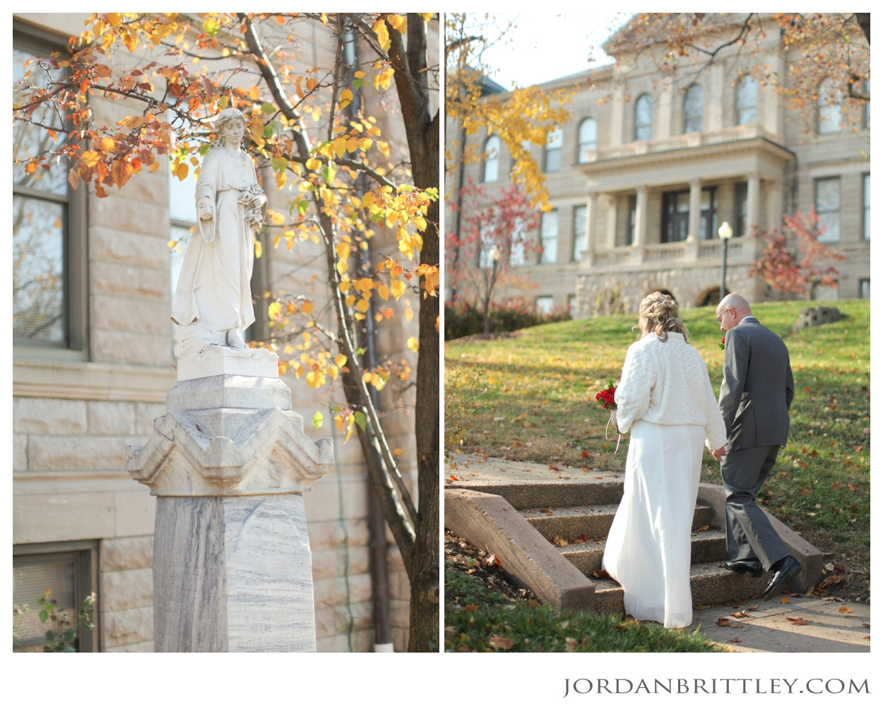 St Charles Court House Wedding Photos