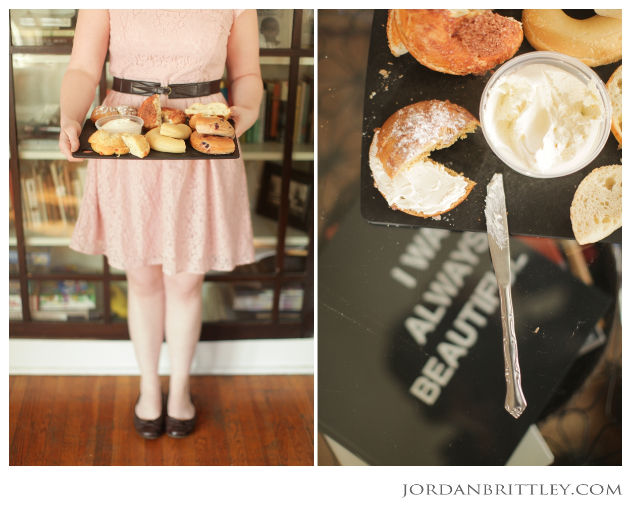 bridesmaid, bagels, Union Project Pittsburgh Pennsylvania Wedding