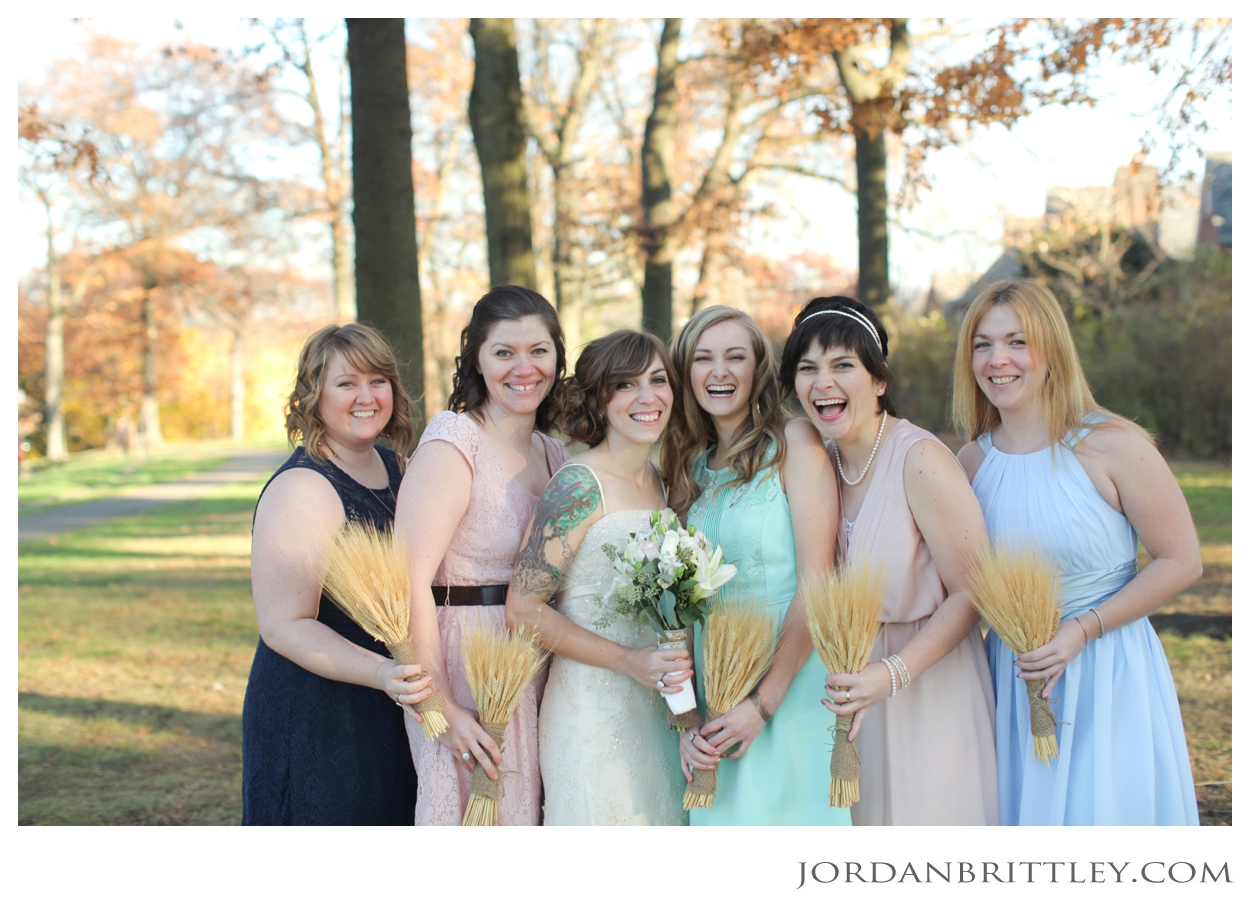 Union Project Pittsburgh Pennsylvania Wedding, bridesmaids