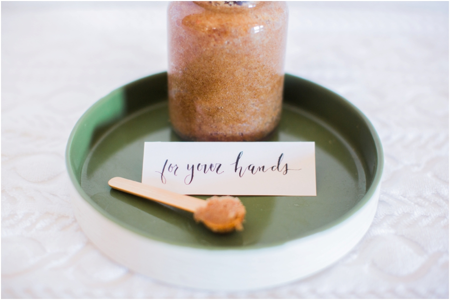 DIY Winter Sugar Scrub by Jordan Brittley Photography