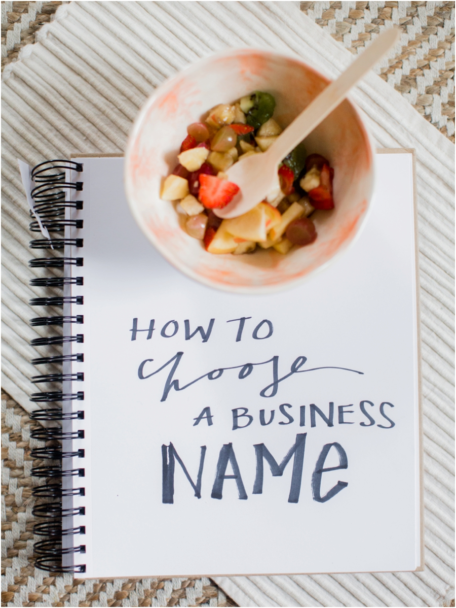 How to Choose a Buisness Name