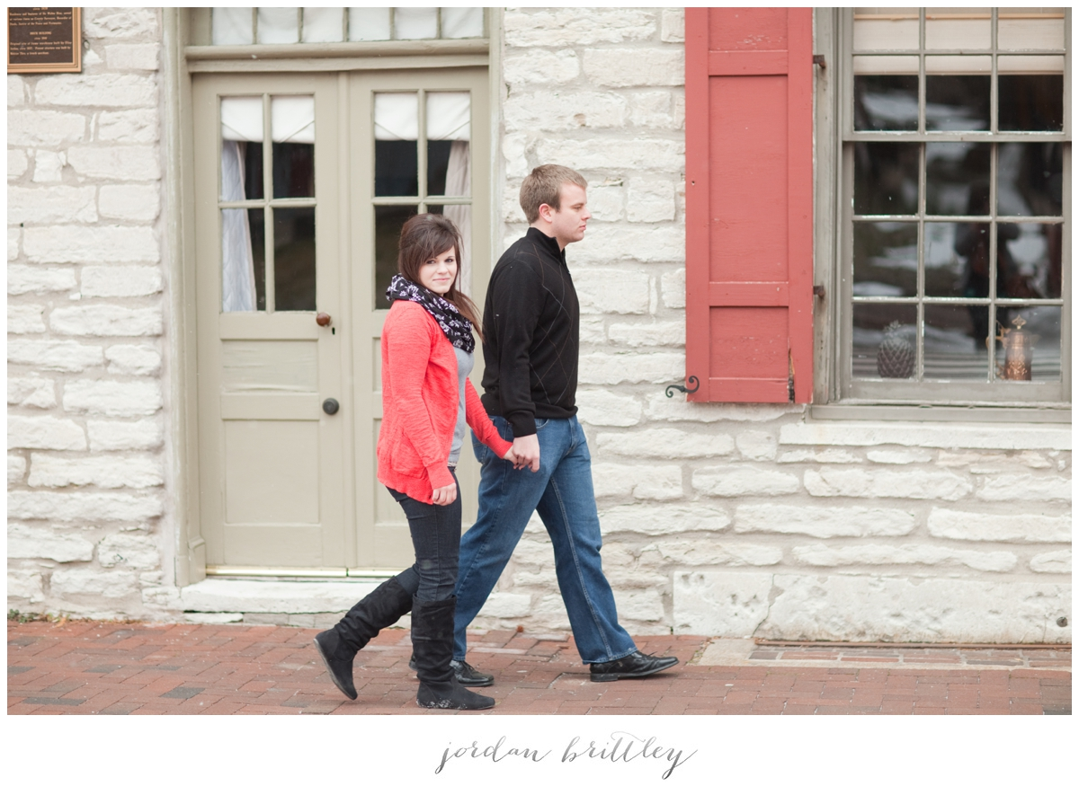 St Charles Engagement - Main Street St Charles by Jordan Brittley_001