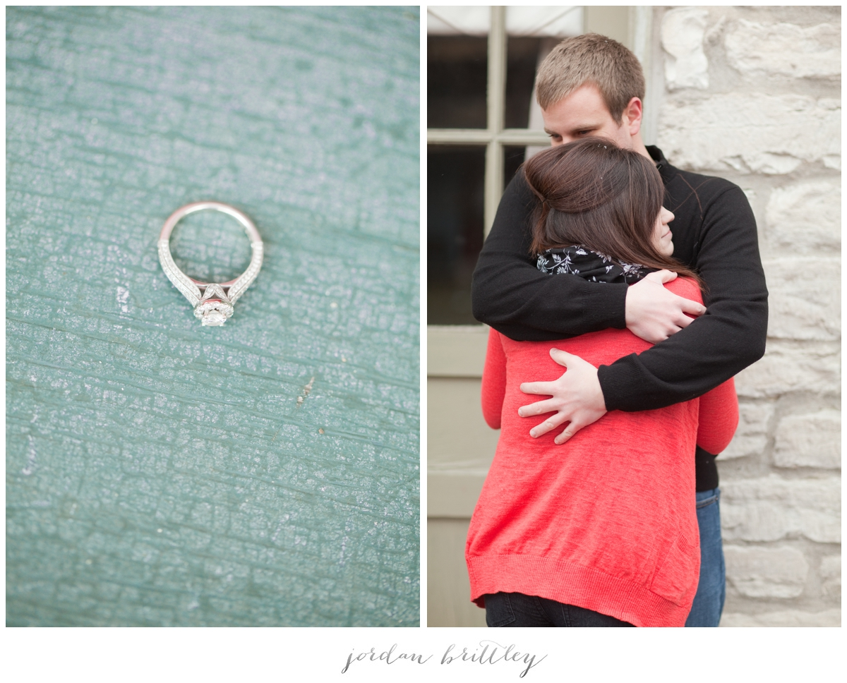 St Charles Engagement - Main Street St Charles by Jordan Brittley