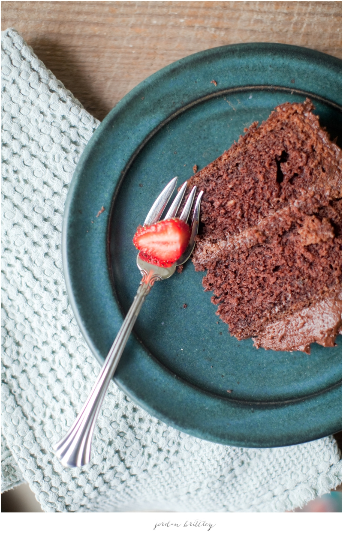 Buttercream Chocolate Cake Recipe by Jessie Grainger - Photos by Jordan Brittley_002