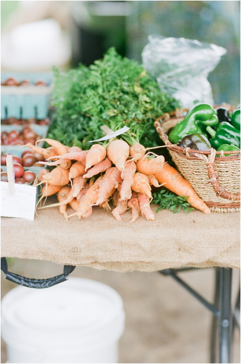 carrots from the farmers market - photography by jordan brittley