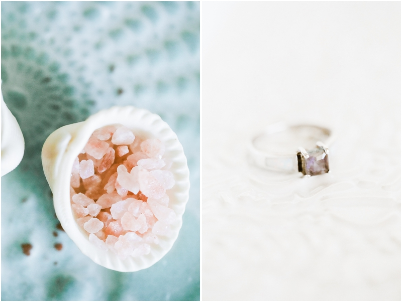seashell of salt and purple sapphire ring - photography by jordan brittley_003