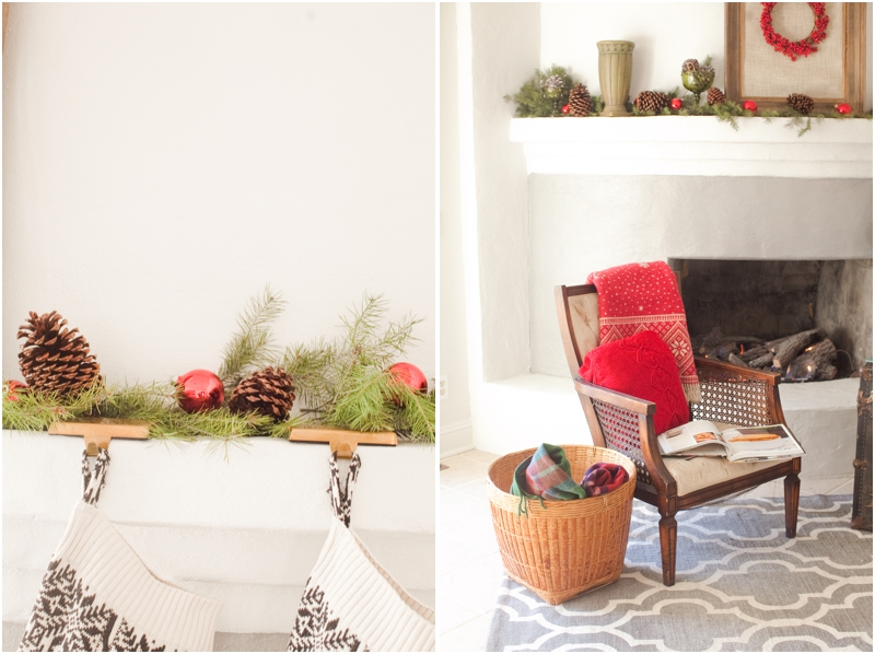 Christmas Mantle Shoot, 2 Ways by Jordan Brittley