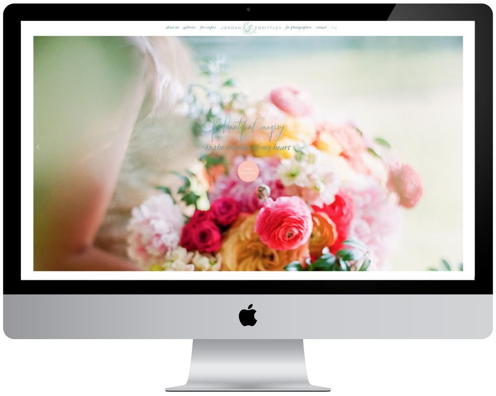 Jordan Brittley Website - Fine Art Wedding Photographer and Photographer Educator