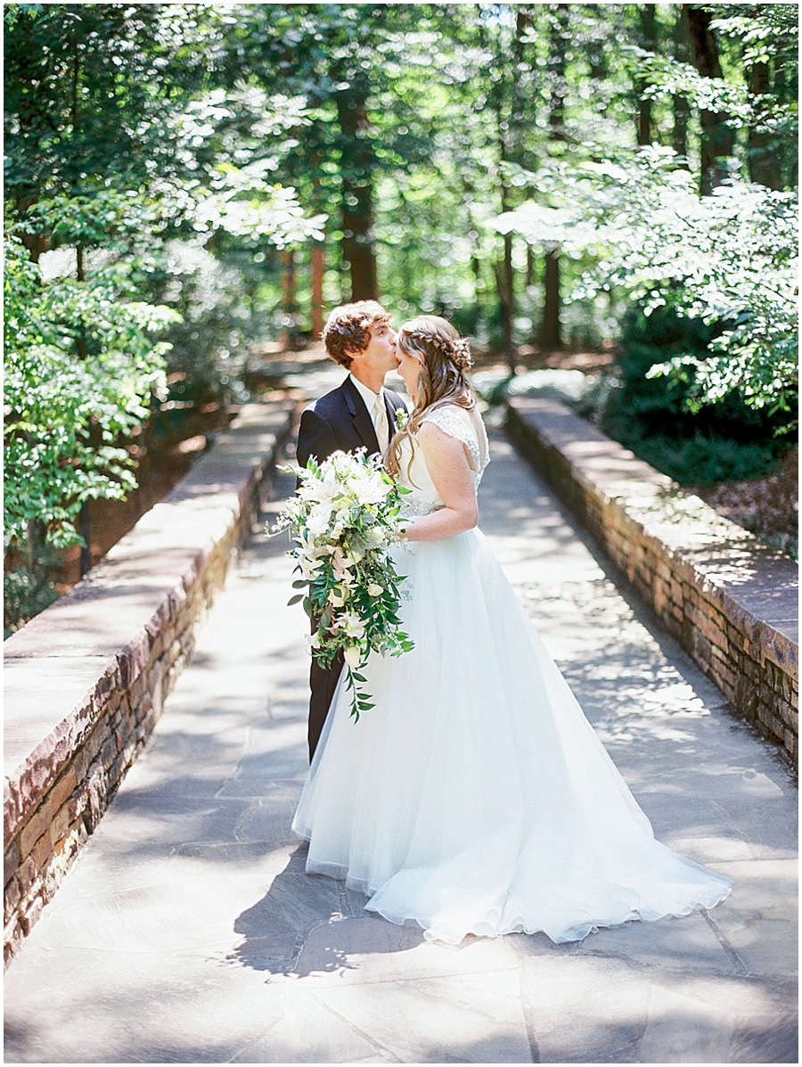 Fine Art Film Wedding in Little Rock