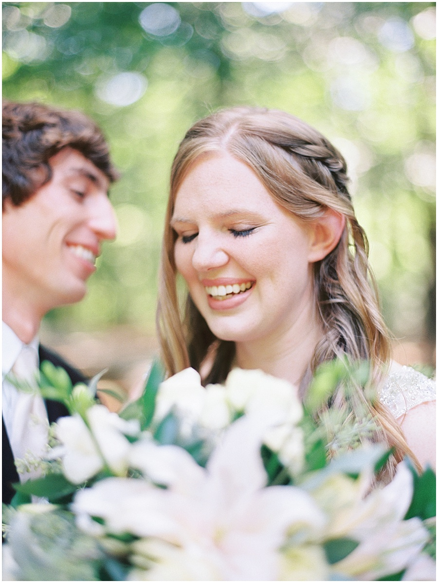 Fine Art Film Garden Wedding Photographer