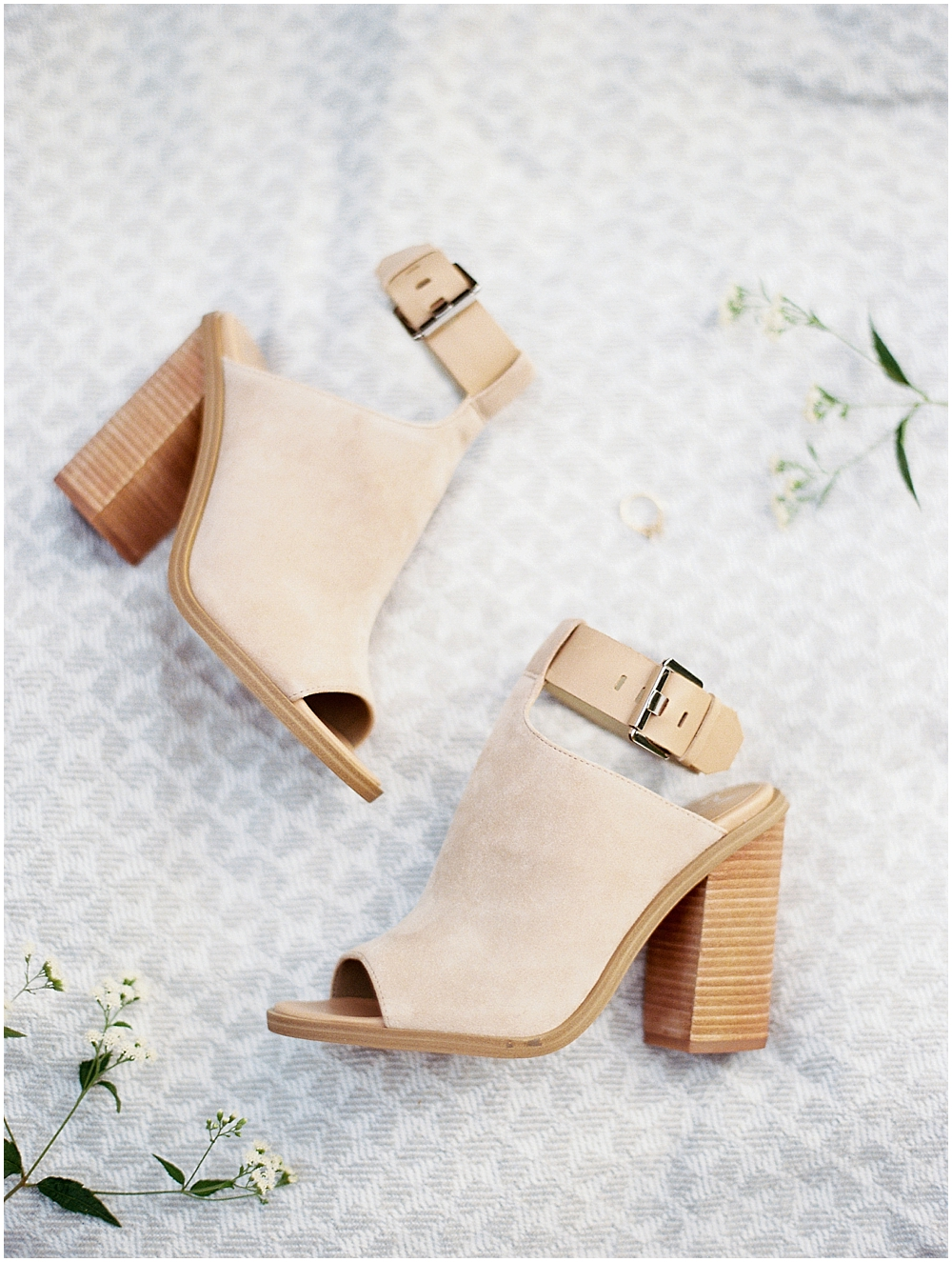 Romantic and Stylish Engagement Shoes