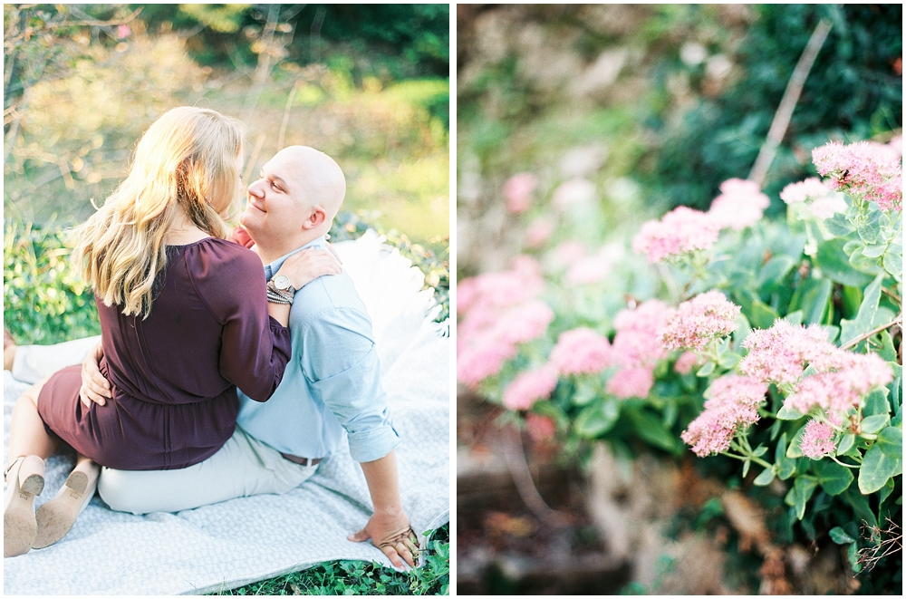 Romantic Garden Engagement Session