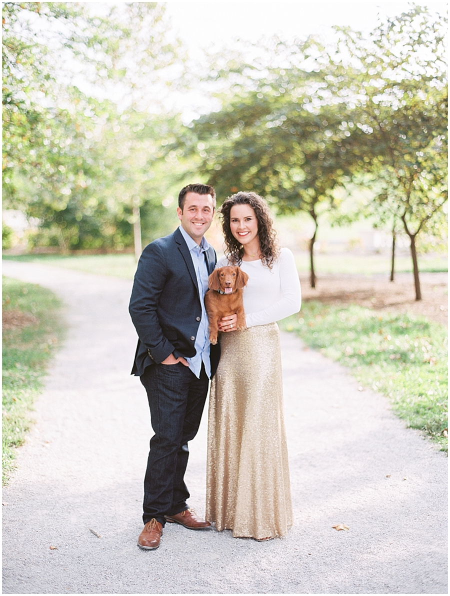 Every couple should bring their dog to their anniversary session!