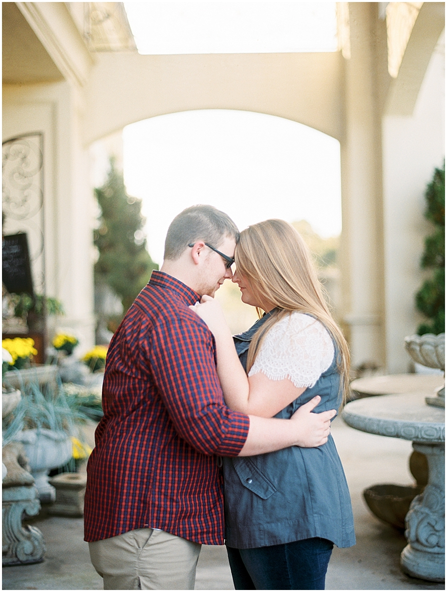 Southern Missouri Outdoor Engagement Photos | Film Photography