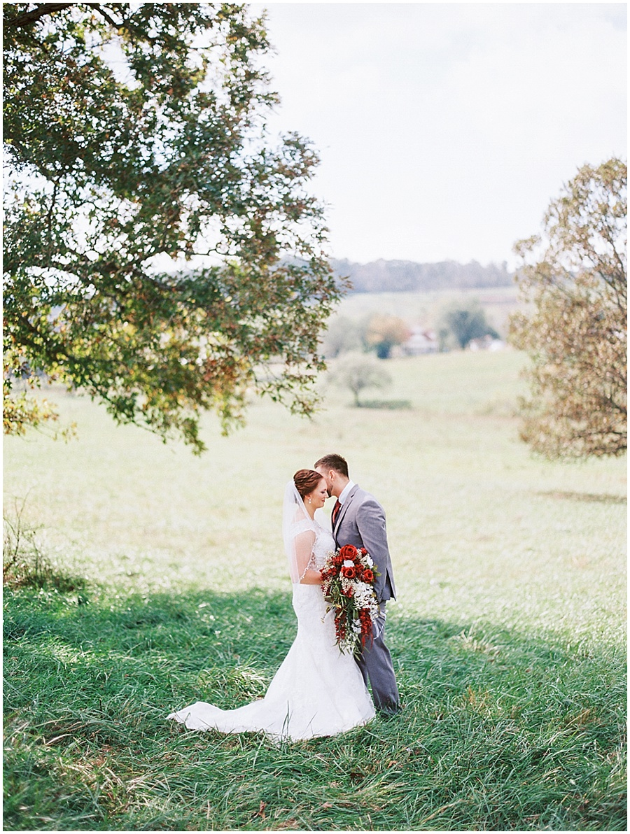 Springfield Missouri Outdoor Wedding Wedding Photos | Film Photographer