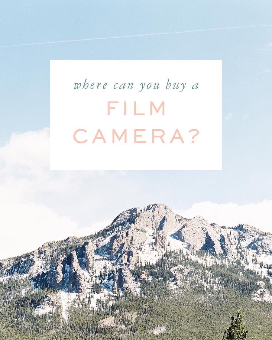 Film Tips - Where should you buy a film camera?