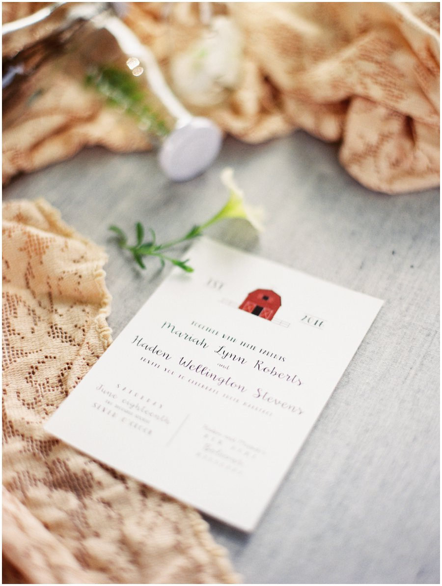 Styling tips for the invitation suite - how to photograph the invitation at weddings with Jordan Brittley