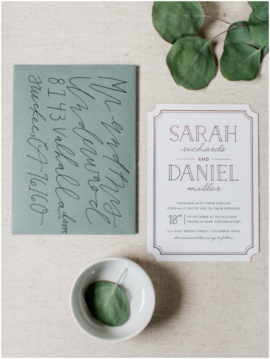 Fine Art Wedding Invitations from Basic Invite - Jordan Brittley Photography