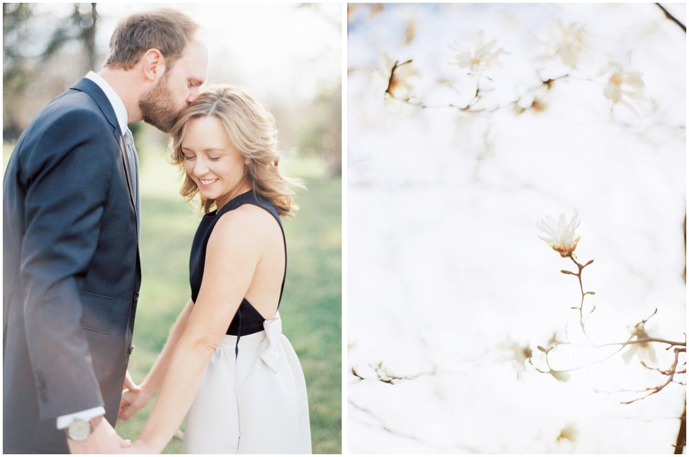 Southern Missouri Outdoor Engagement Photos | Garden Photography
