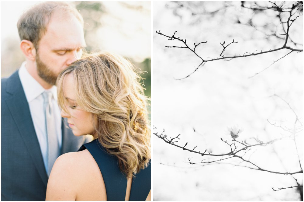 Kansas City Missouri Outdoor Engagement Photos | Film Photographer