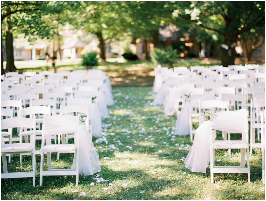 St. Louis Missouri Garden Wedding Photos | Film Photography