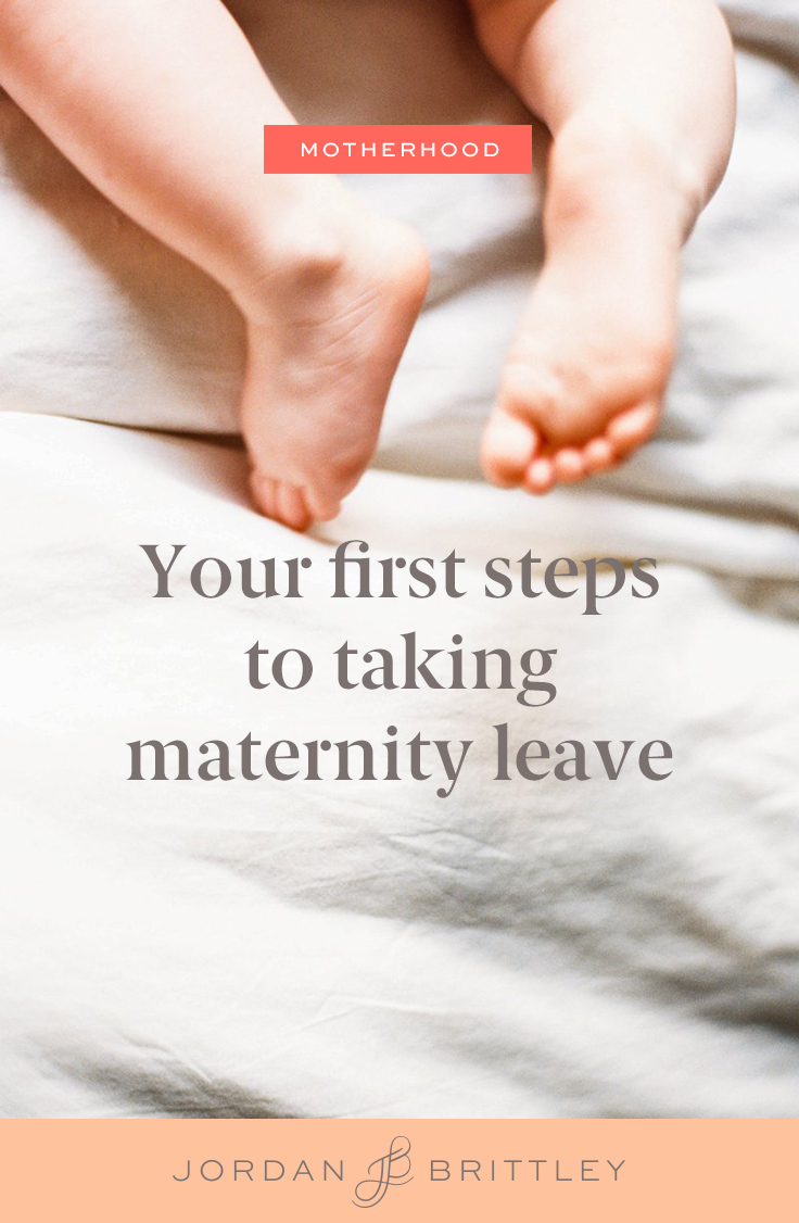 How to prepare for maternity leave