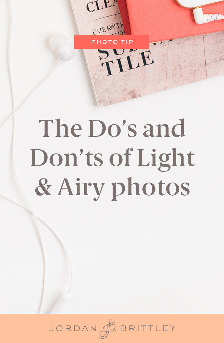 what to do with light and airy photos