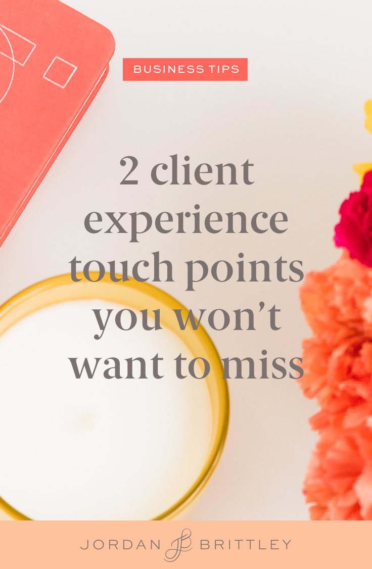 Client experience touch points you won't want to miss