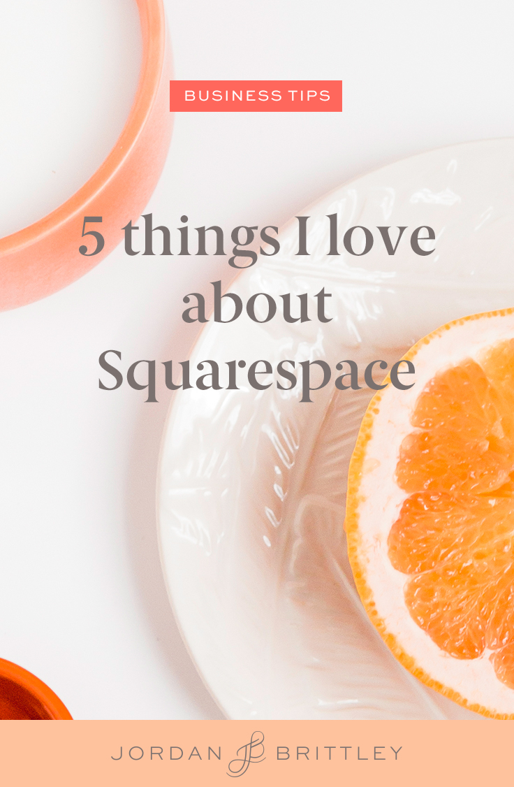 5 Things I love About Squarespace - SEO, drag and drop, Online store, Social Icons, and Video