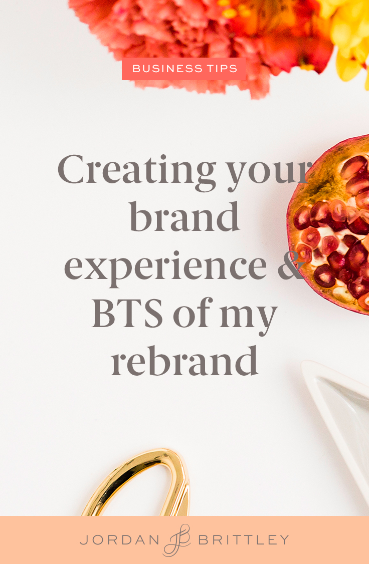Creating your brand experience - The Jordan Brittley Blog (www.jordanbrittleyblog.com)