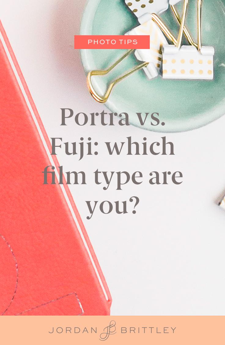 """Portra vs Fuji - Which film should you shoot?"" - Jordan Brittley"