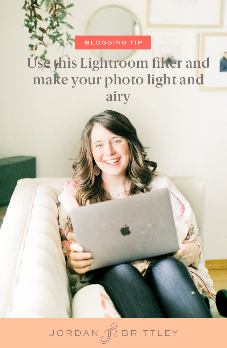 The best Lightroom filter for Light & Airy photos