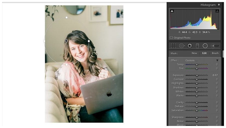 Use this Lightroom filter to make your photos light and airy