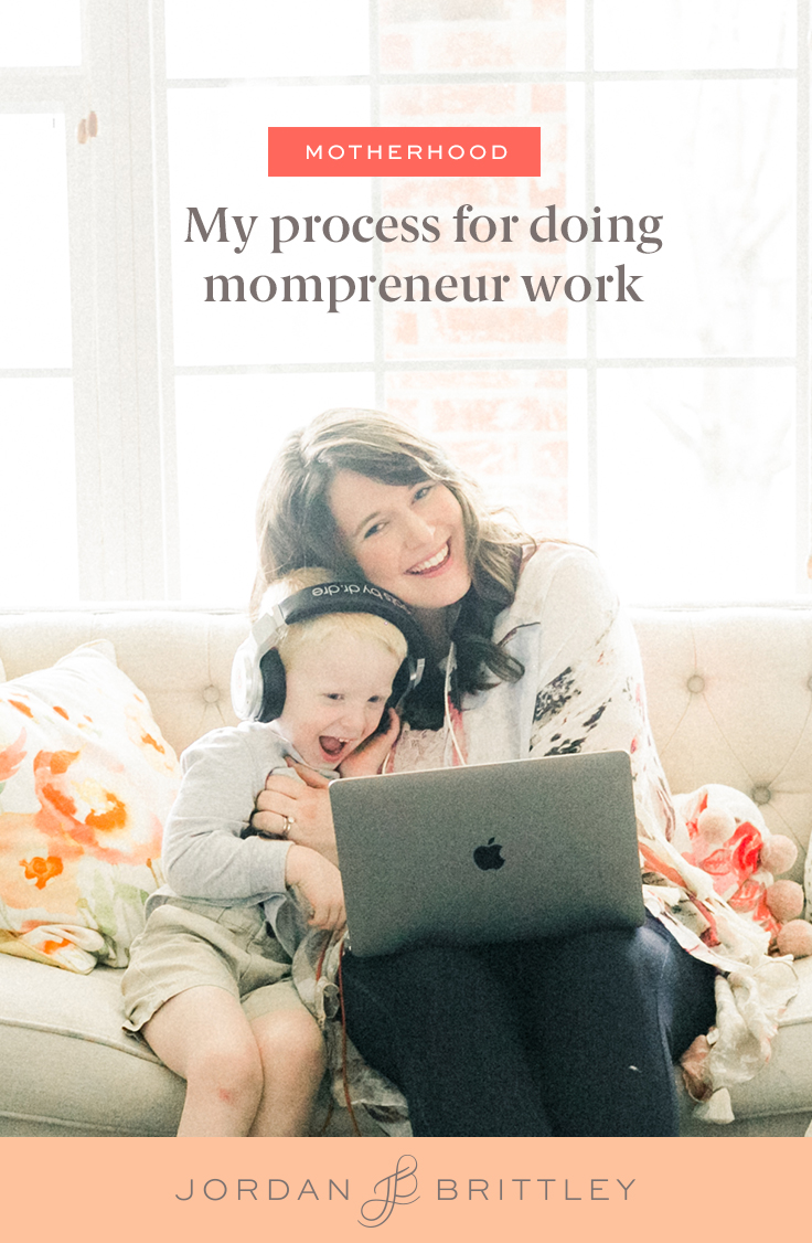 How to do work as a mompreneur
