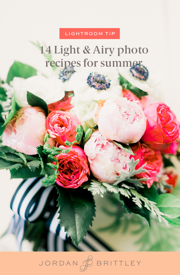 14 Light & Airy photo recipes for summer.jpg