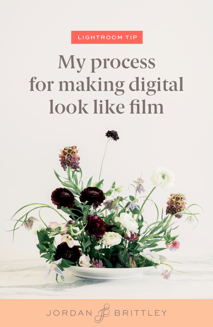 How to make digital look like film
