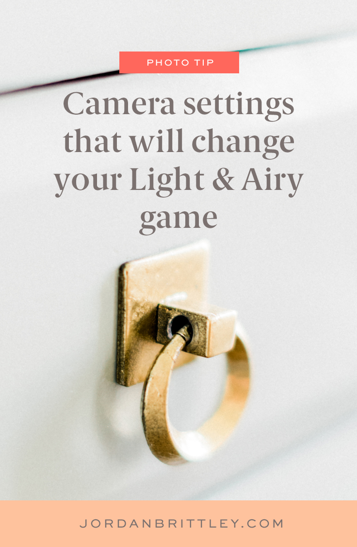 bright and airy camera settings