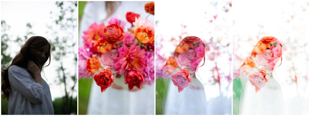 light and airy digital double exposure tutorial