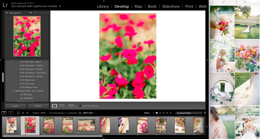 HSL Lightroom editing tutorial