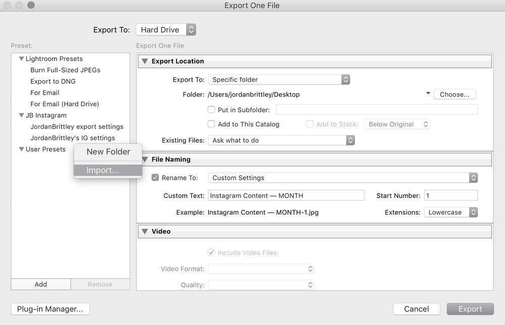 import lightroom export settings template into Lightroom - 1.jpg