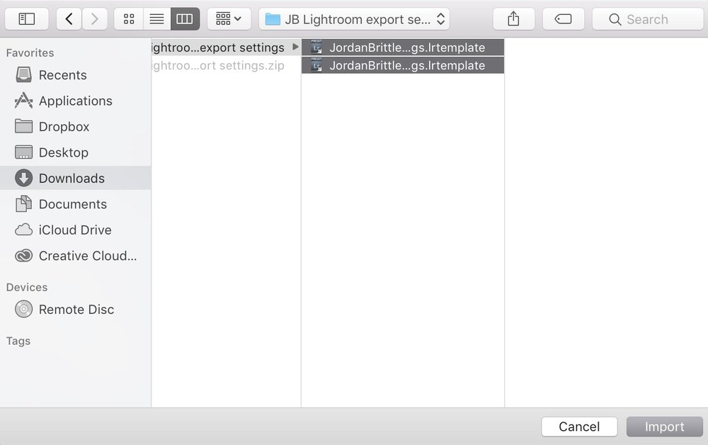 import lightroom export settings template into Lightroom - 3.jpg