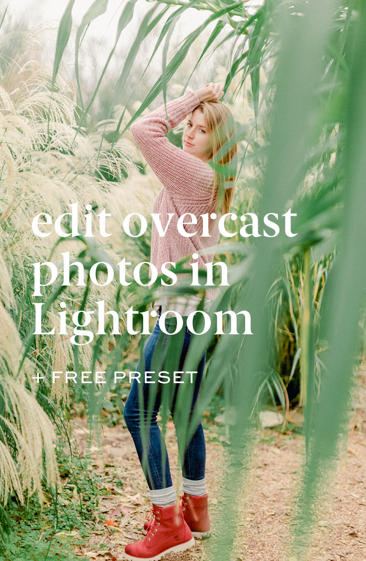 Love pinterest? - You and me both! Pin this image and come back anytime you have an overcast editing session ahead of you.