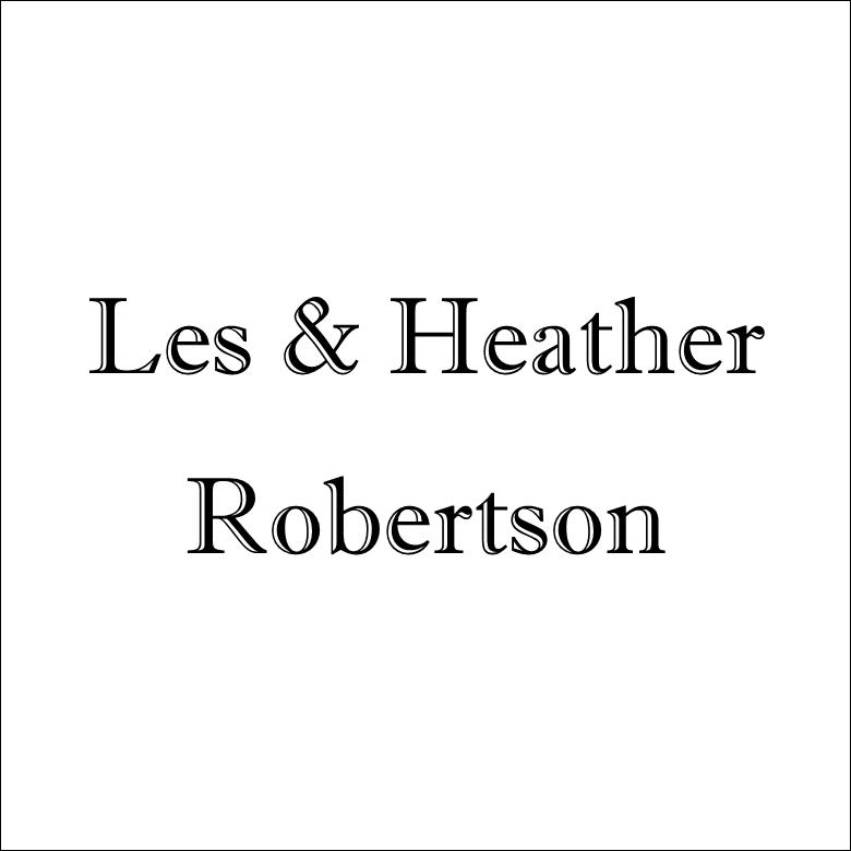 Les & Heather Robertson