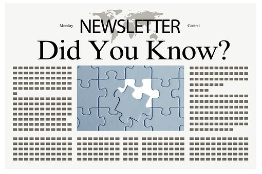 did you know newsletter