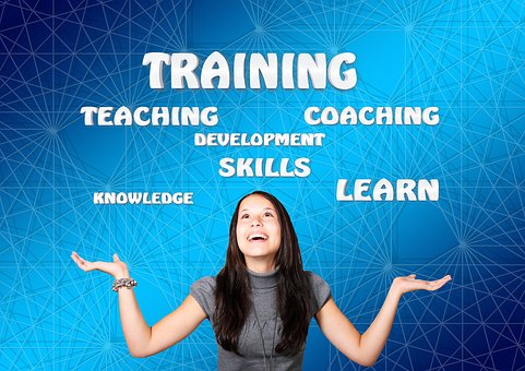 training skills coaching - girl smiling
