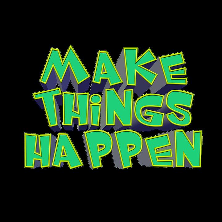 professional initiative - make things happen