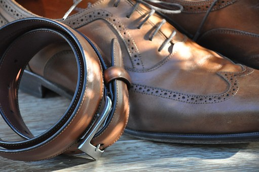 dress code - men's shoes & belt