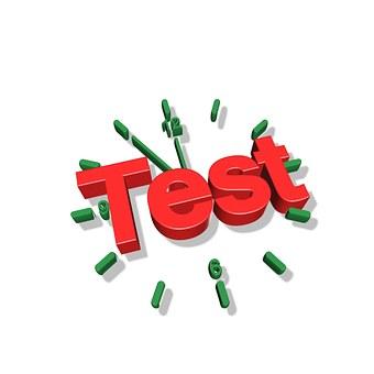 timed test image